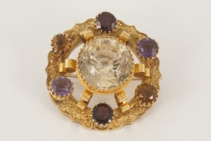 Antique broach