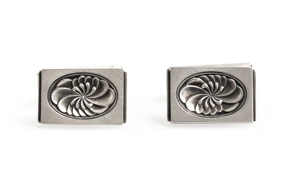 antique cufflinks by Georg Jensen