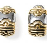 vintage bulgari earrings