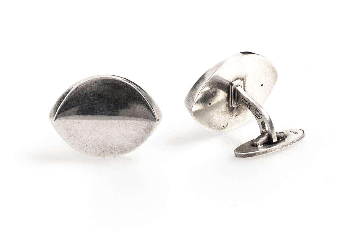 Antique silver cufflinks by Georg Jensen