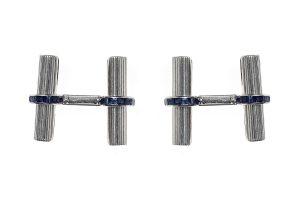 Boucheron baton cufflinks