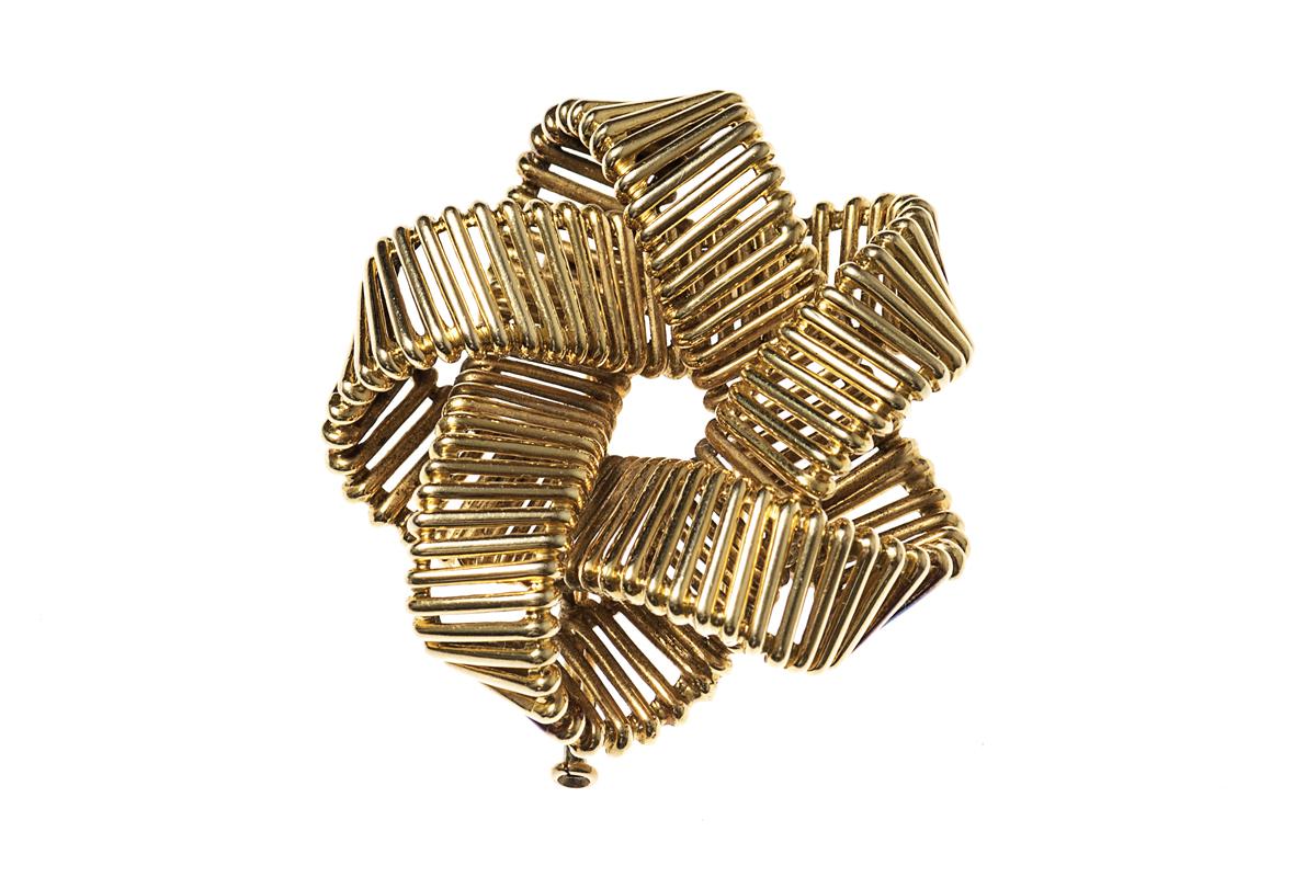 Vintage Hermes Gold Brooch