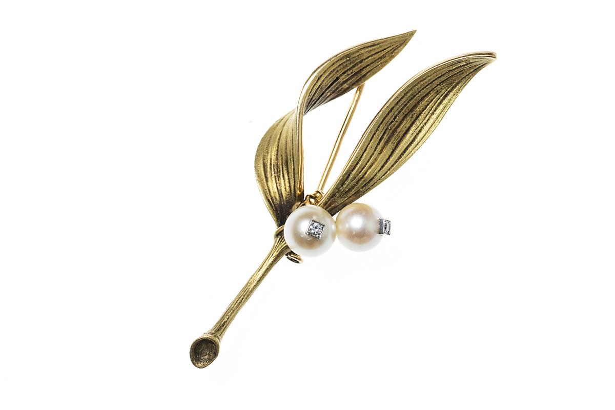 Vintage Sterle Brooch