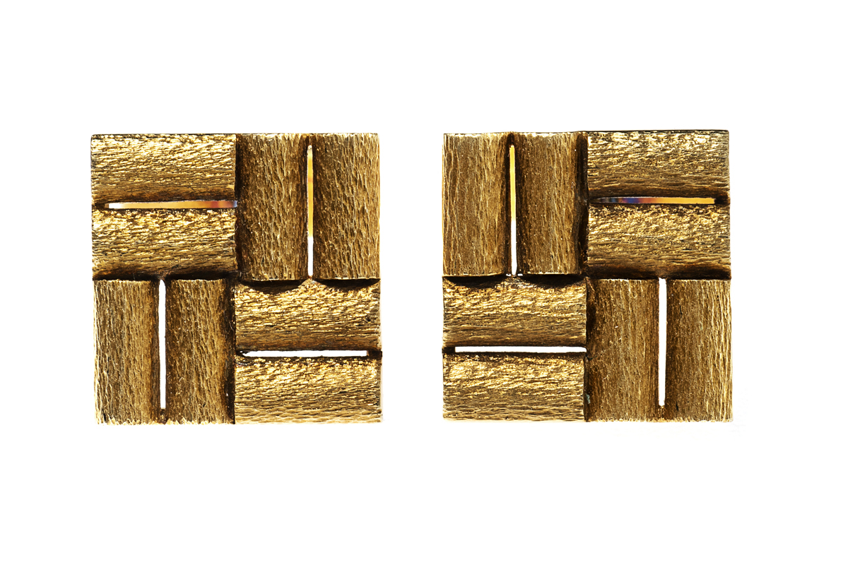 1920's Tubular Gold Cufflinks