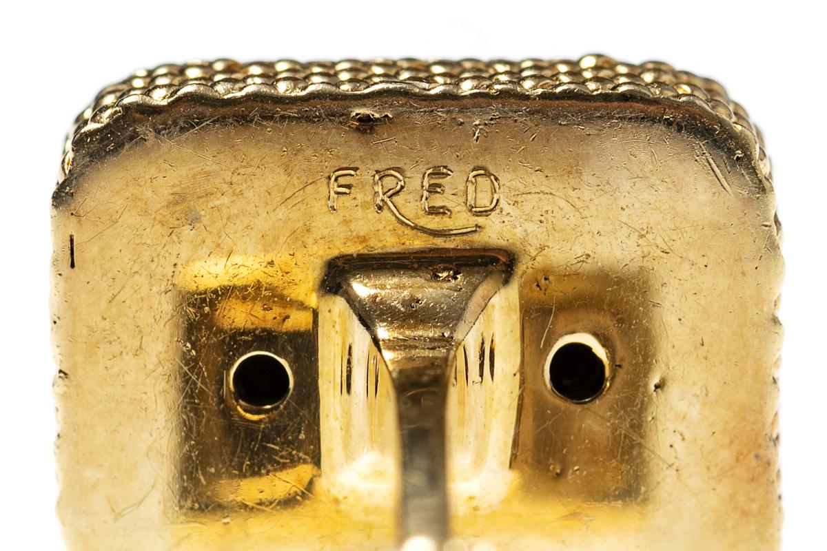 Vintage Cufflinks by FRED