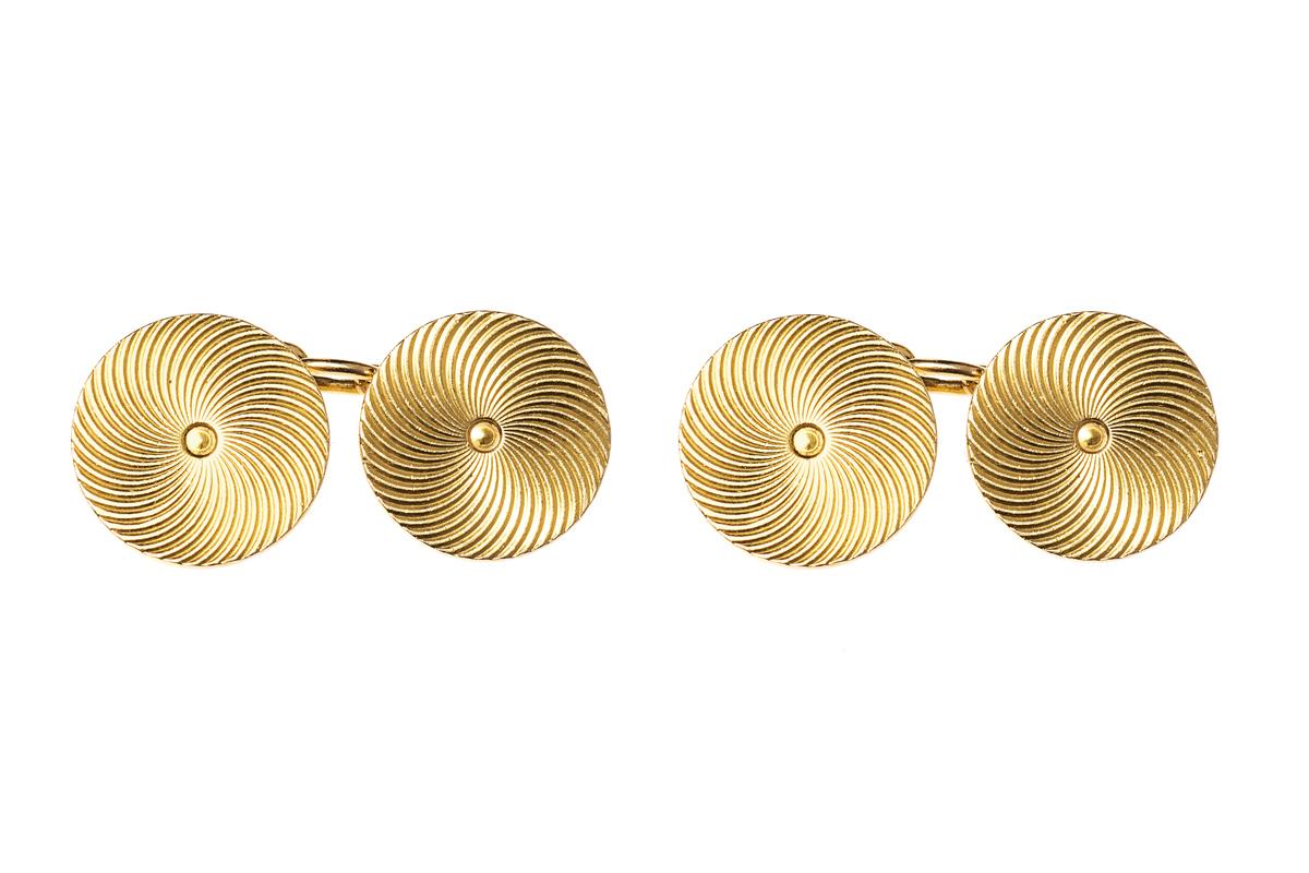 Antique Cufflinks Signed Mellerio
